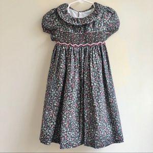 Edgehill Collection   Smocked Round Collar Dress